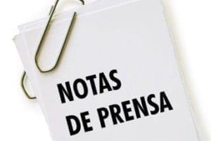 notas de prensa app promotion