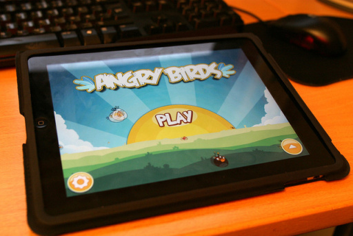 angry brids mobile game
