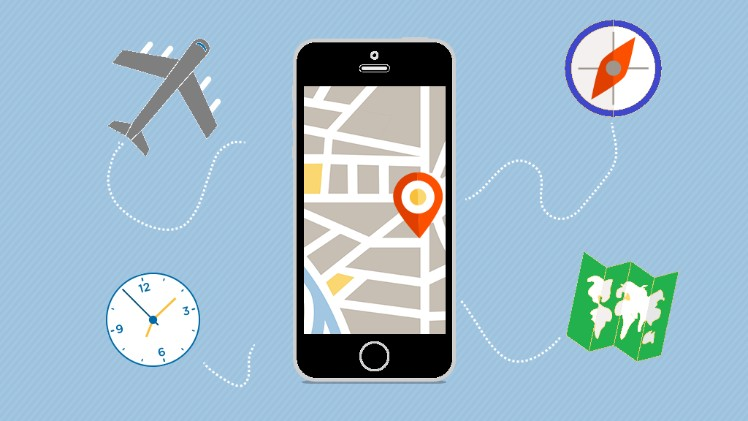 Tourism app graphics - tourism app