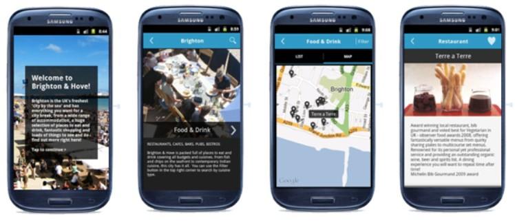 Example Tourism app