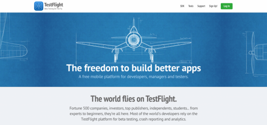 TestFlight - app development