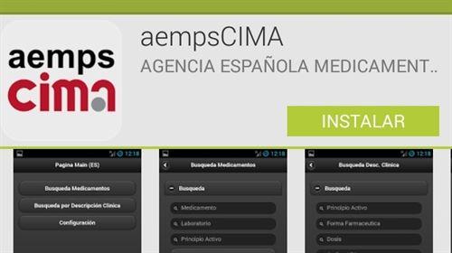 Healthcare app screenshot