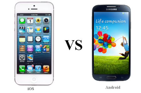 Mobile app developers when Coding Apps: iOS vs Android