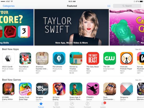 appstore app montization