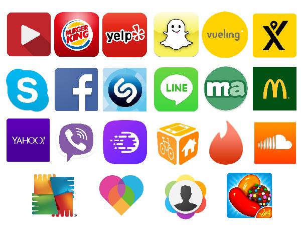 app icons logos