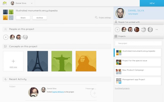 concept inbox screenshot