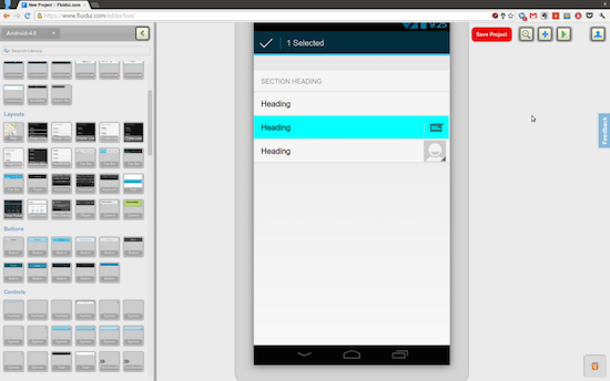 fluid-ui-app prototyping
