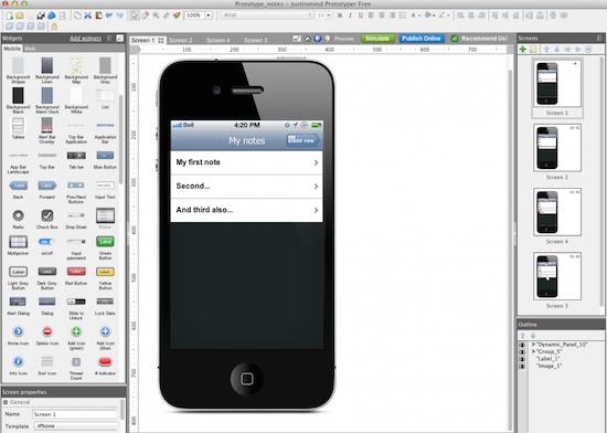 prototyper screenshot