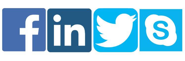 social medias logos