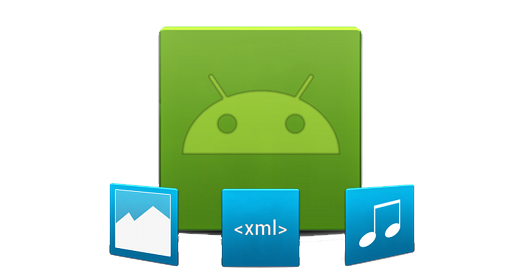 drawing of Android logo