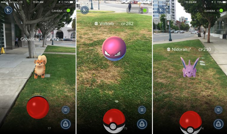 Pokemon Go develop an app