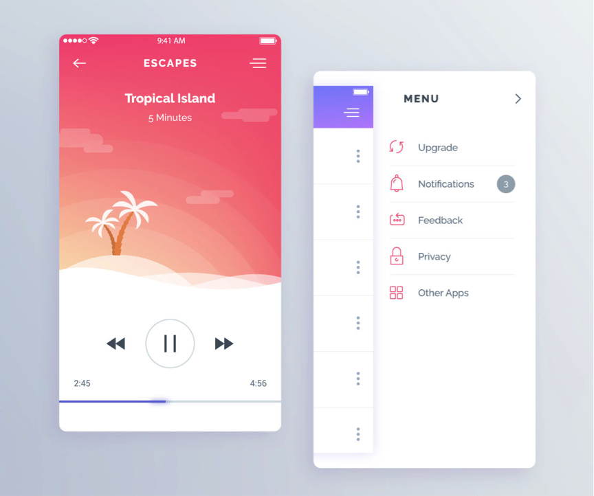 app design example - mobile app design