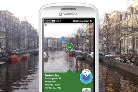 smartphone camera on Amsterdam canals