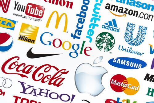different brand logos