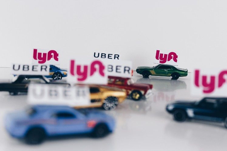toy cars with uber and lya