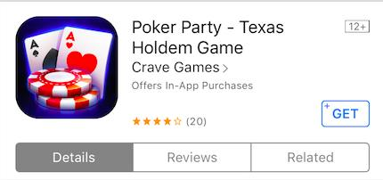 poker party app icon