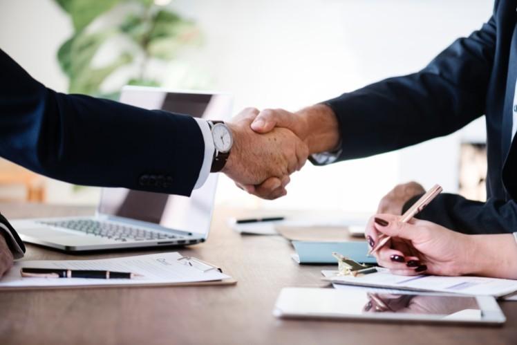 Handshake - job app