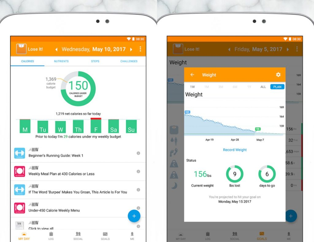 Lose it! Health Apps