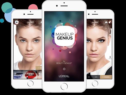 Loreal Makeup Application