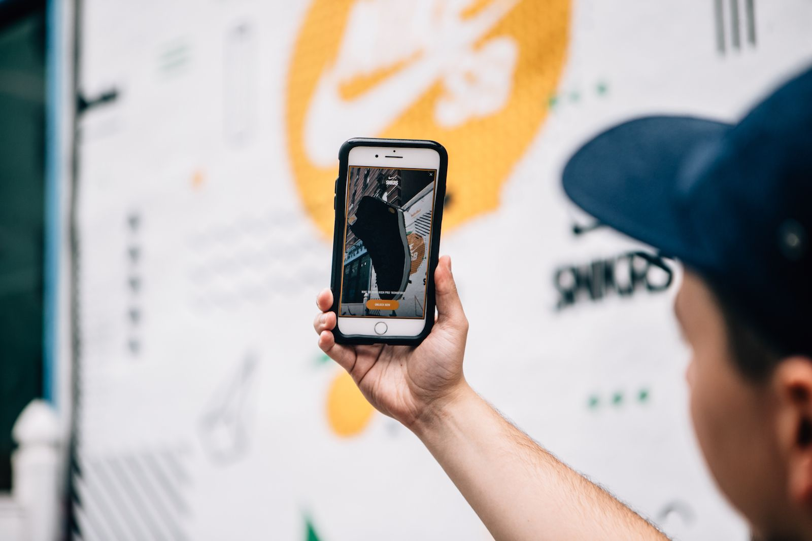 Augmented Reality Sneakers App
