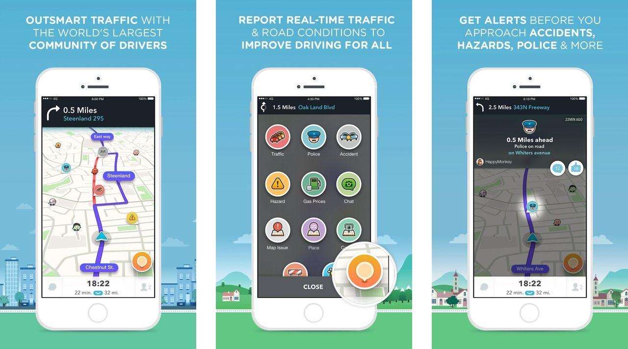 screenshot of Parkwhiz app