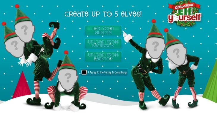 Christmas apps to elf yourself