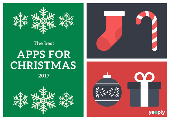 Christmas Apps: the best applications for 2017