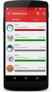 Christmas apps for creating a wish list