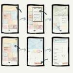 drawings of smartphones