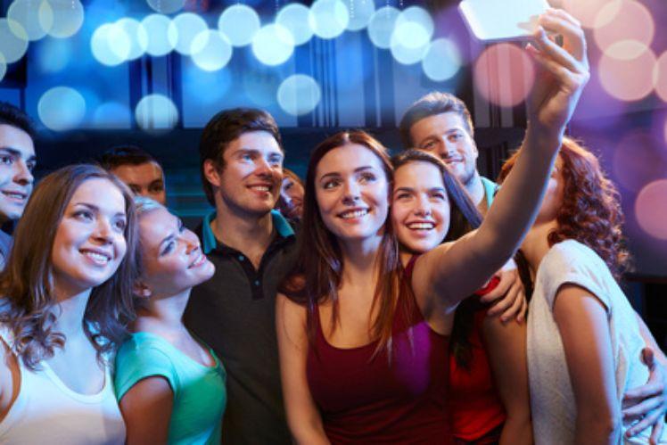 Teens taking selfie - Generation Z