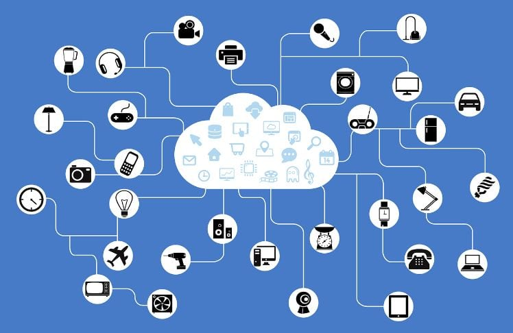 internet of things network- mobile app development trends 2019