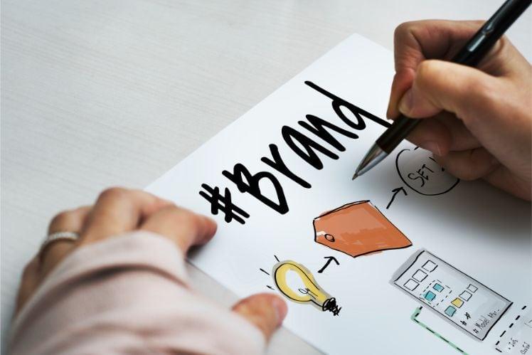 hand writing - digital branding