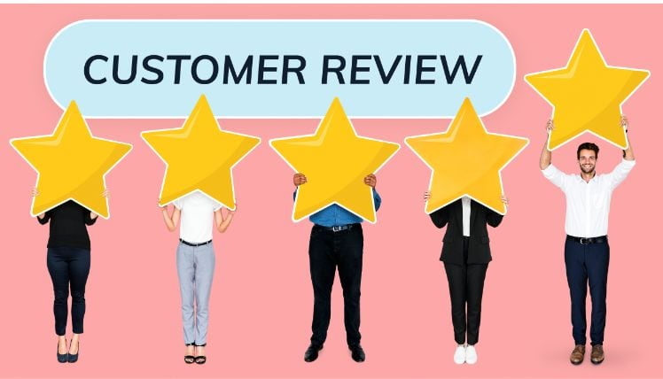 customer review rating- web programmer references