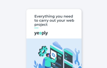 web project ebook cover of yeeply