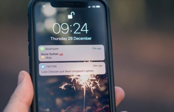 push notifications on a smartphone
