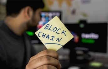 blockchain post it