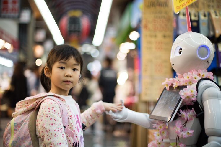 un robot como asistente personal de compras