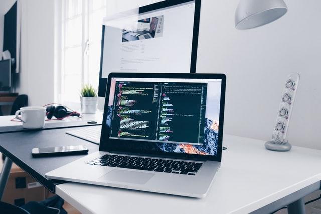 software development screen