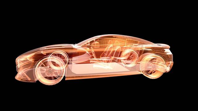 Car design hologram