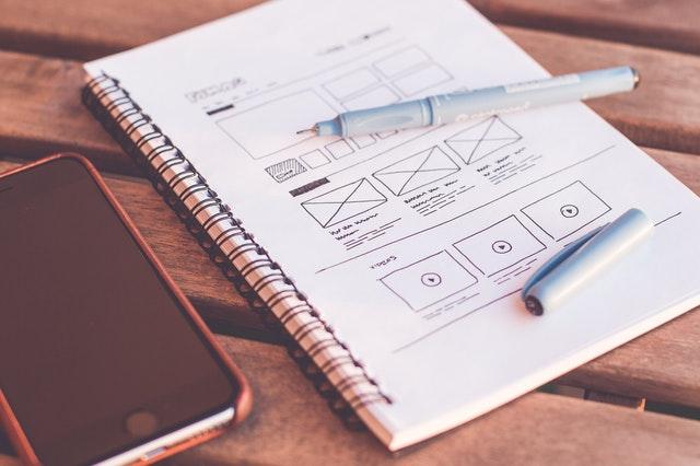 app design notebook