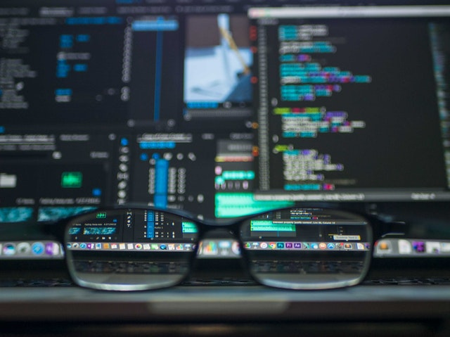 glasses and data
