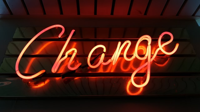 Change digitise business light